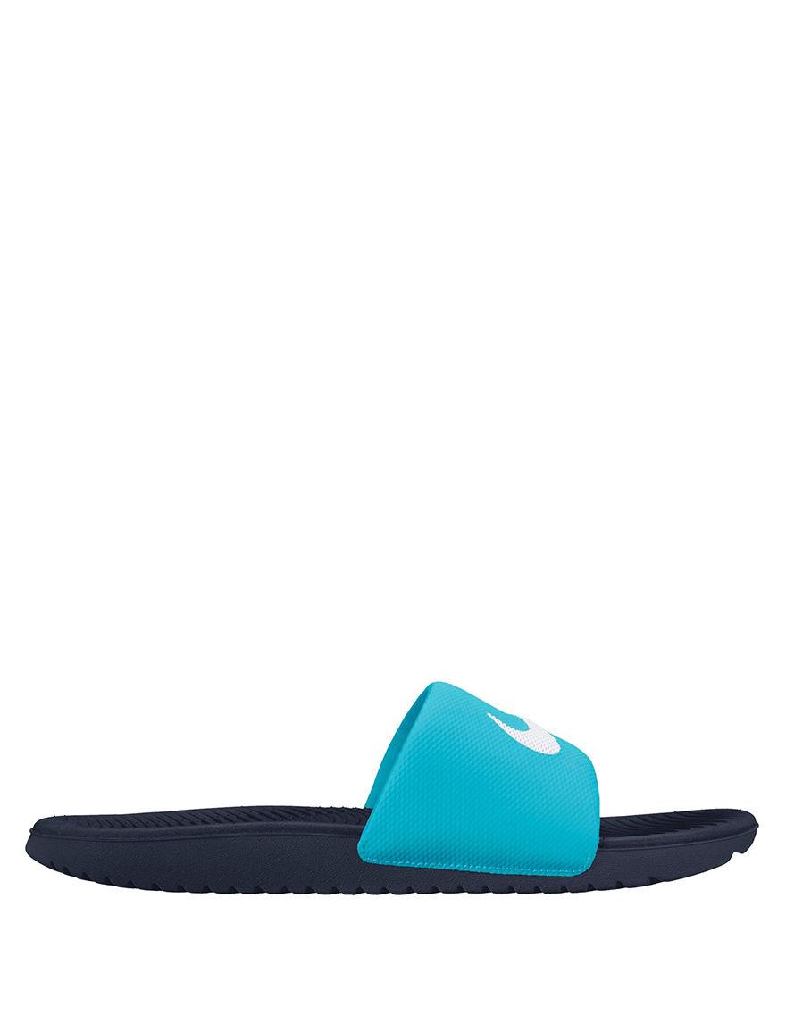 Nike Navy Blue Slide Sandals Sport Sandals