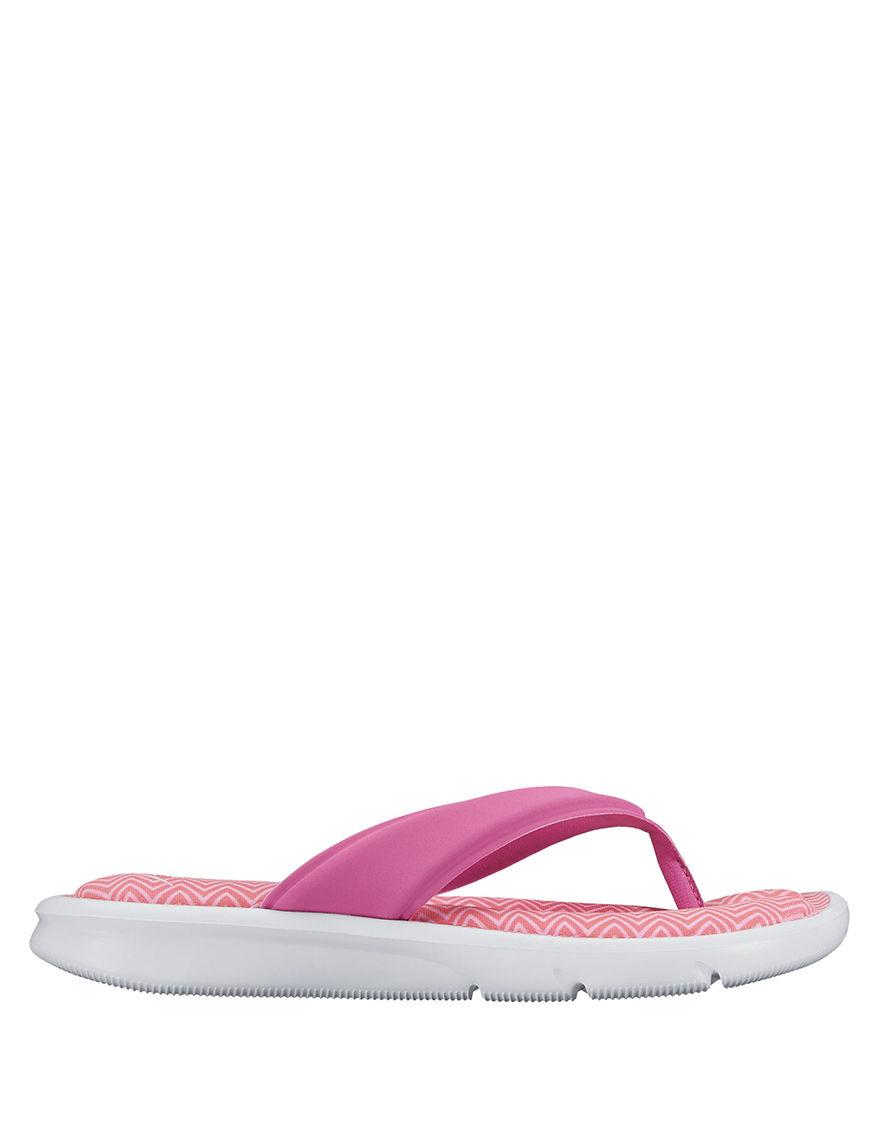 Nike Pink Flip Flops Sport Sandals
