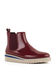 Cougar Wine Rain Boots