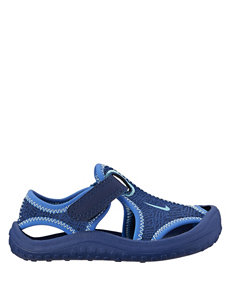Nike Blue Sunray Protect Sandals - Toddler Boys 4-10