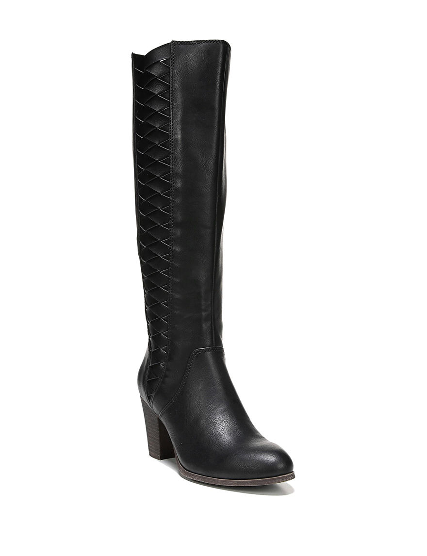 Fergie Black Riding Boots