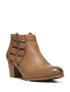 Fergie Tan Ankle Boots & Booties
