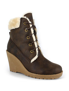 Dolce by Mojo Moxy Expresso Ankle Boots & Booties