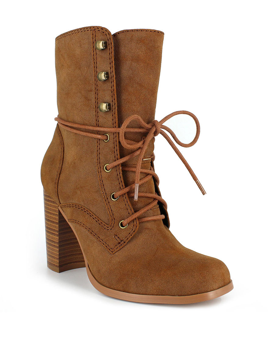Dolce by Mojo Moxy Sand Ankle Boots & Booties
