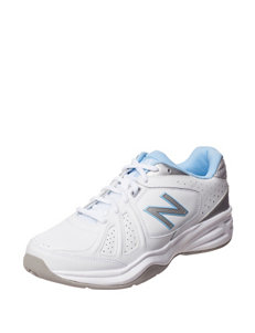 New Balance White/Blue