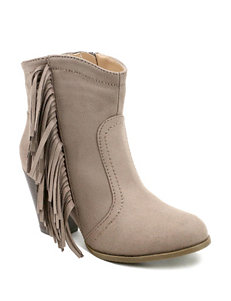 Olivia Miller Taupe Ankle Boots & Booties