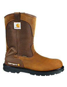 Carhartt Brown Steel Toe Work