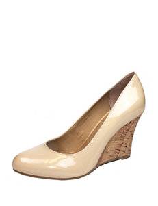 Rialto Natural Wedge Pumps
