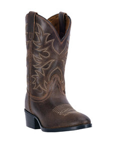 Dan Post Carter Western Boots – Boys 8-3