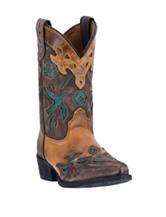 Dan Post Vintage Bluebird Western Boots – Girls 8-3