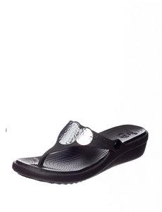 Crocs Black / Silver
