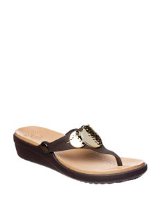 Crocs Expresso Wedge Sandals