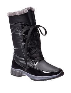 Sporto Black Winter Boots