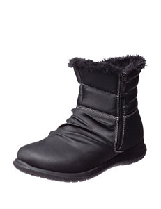 Sporto Black Winter Boots