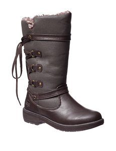 Totes Brown Winter Boots