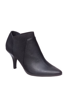 Italian Shoemakers Black Ankle Boots & Booties