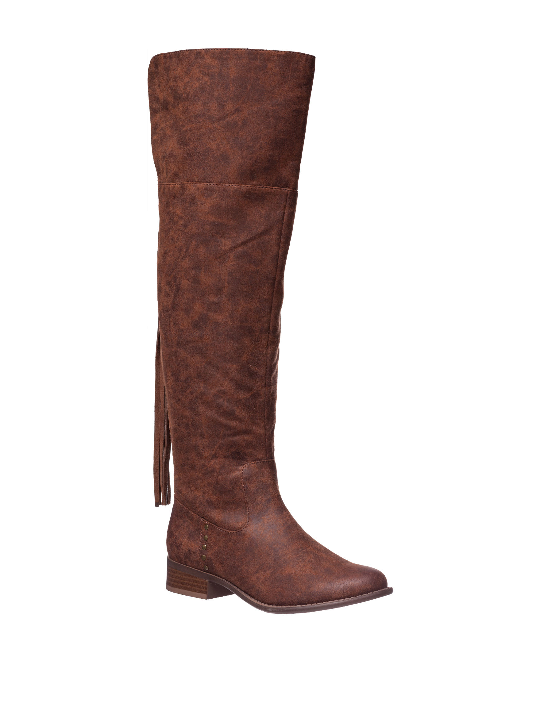 Italian Shoemakers Brown Riding Boots