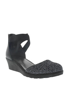 Kenneth Cole Simona Tap Wedge Shoes –Girls 12-6