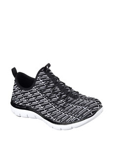 Skechers Black / White