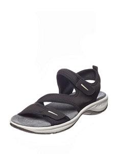 Easy Spirit Black Sport Sandals