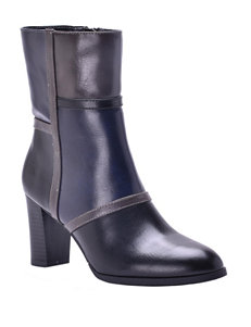 New York Transit Black Ankle Boots & Booties