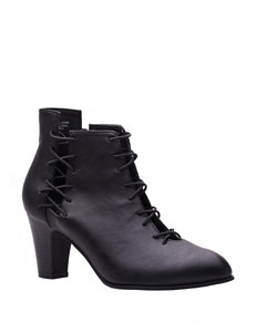 New York Transit Come & Go Heeled Booties