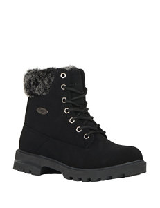 Lugz Black Ankle Boots & Booties Winter Boots