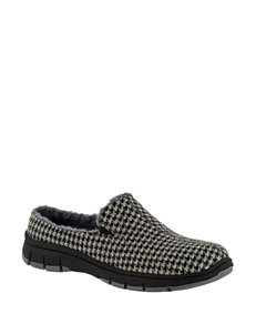 Easy Street Grey Slipper Shoes