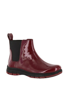 Easy Street Red Rain Boots