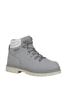 Lugz Grey Hiking Boots