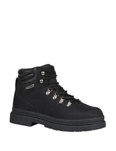 Lugz Black Hiking Boots