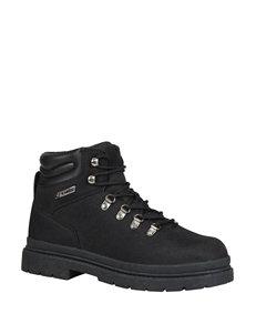 Lugz Black Hiking Boots