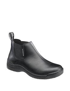 Skidbuster Black Chukka Boots