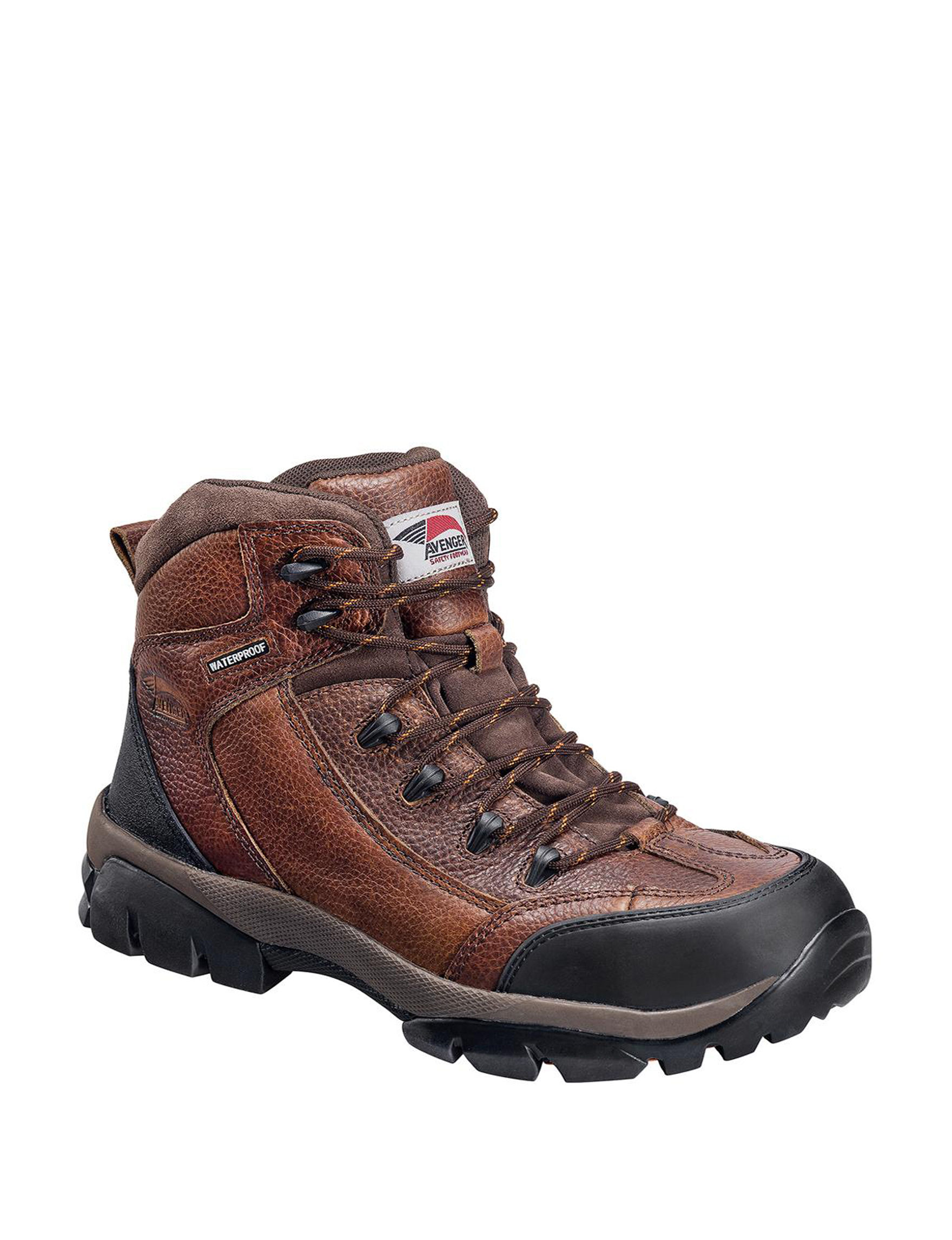 Avenger Brown Hiking Boots