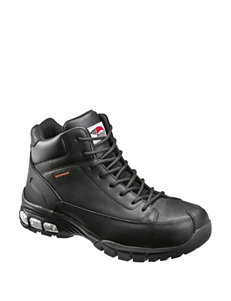 Avenger 7248 Waterproof Work Boots With Air Cushioning
