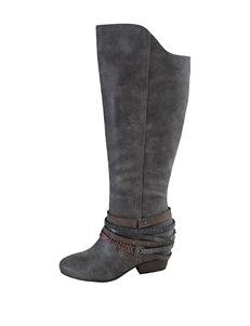 Jellypop Grey Western & Cowboy Boots