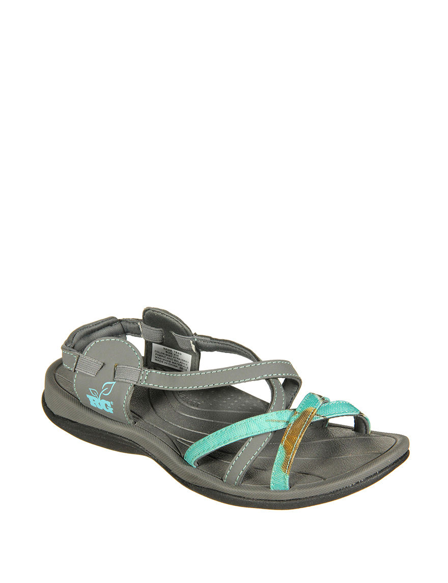 Realtree Turquoise Sport Sandals
