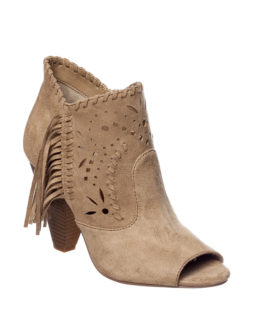 Indigo Rd. Taupe Ankle Boots & Booties