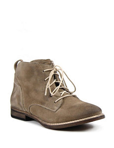 Diba True Taupe Ankle Boots & Booties Western & Cowboy Boots