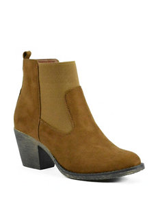 1st Kiss Camel Ankle Boots & Booties