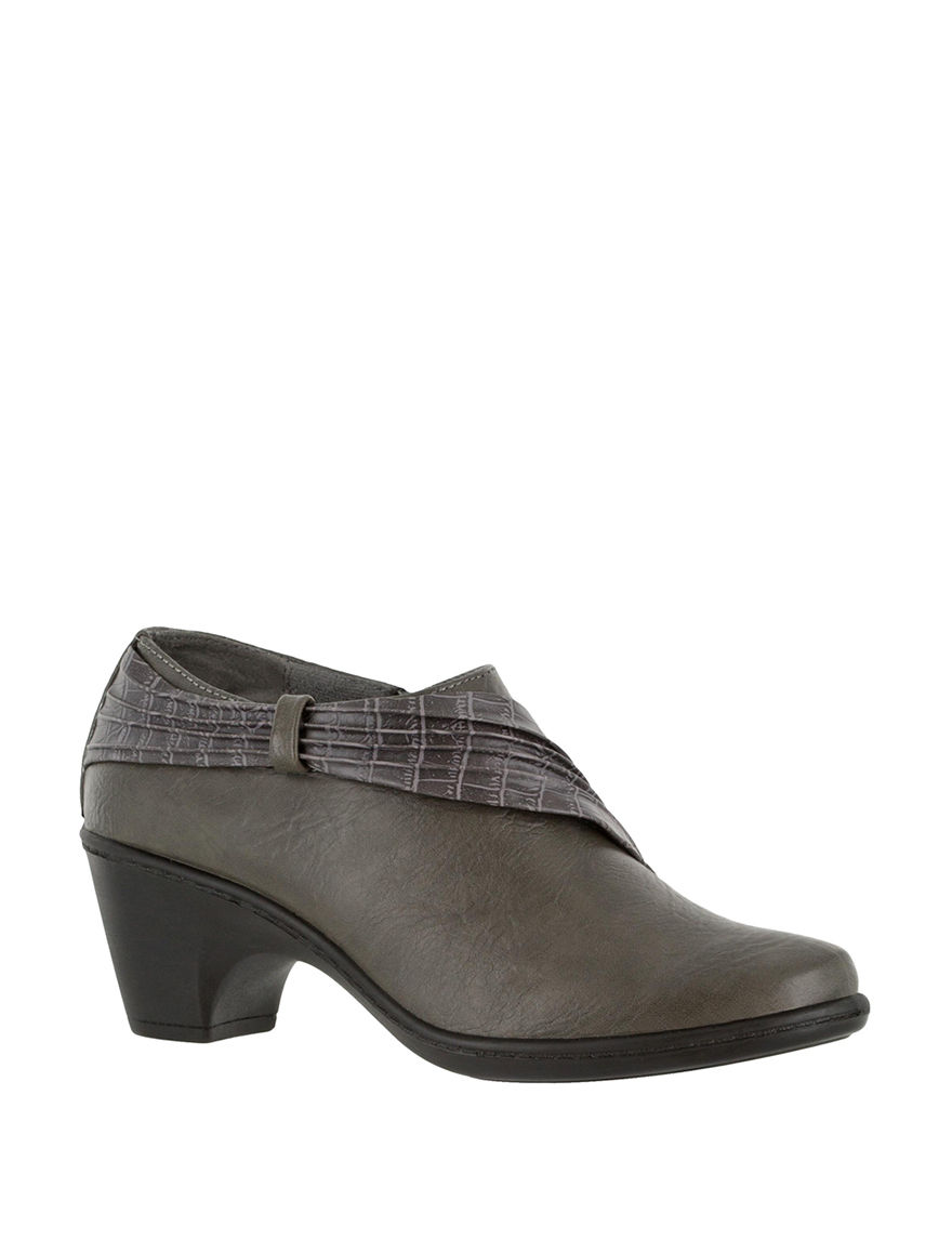 Easy Street Grey Ankle Boots & Booties