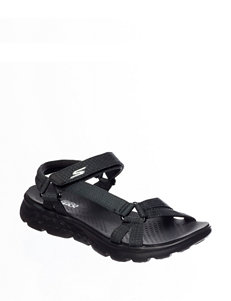 Skechers Black Sport Sandals