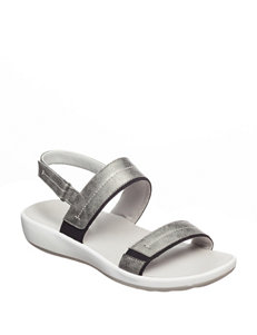 Easy Spirit Pewter Sport Sandals