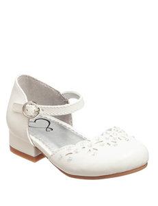 143 Girl Lila Rhinestone Accented Shoes - Girls 11-5