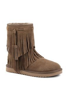 Koolaburra Brown Winter Boots