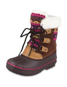 London Fog Tottenham Warm Lined Snow Boots – Girls 11-4