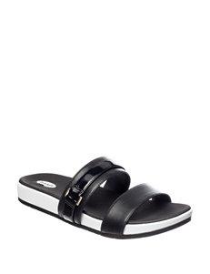 Dr. Scholl's Black Slide Sandals