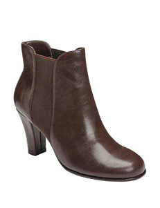 A2 by Aerosoles Brown Ankle Boots & Booties Comfort
