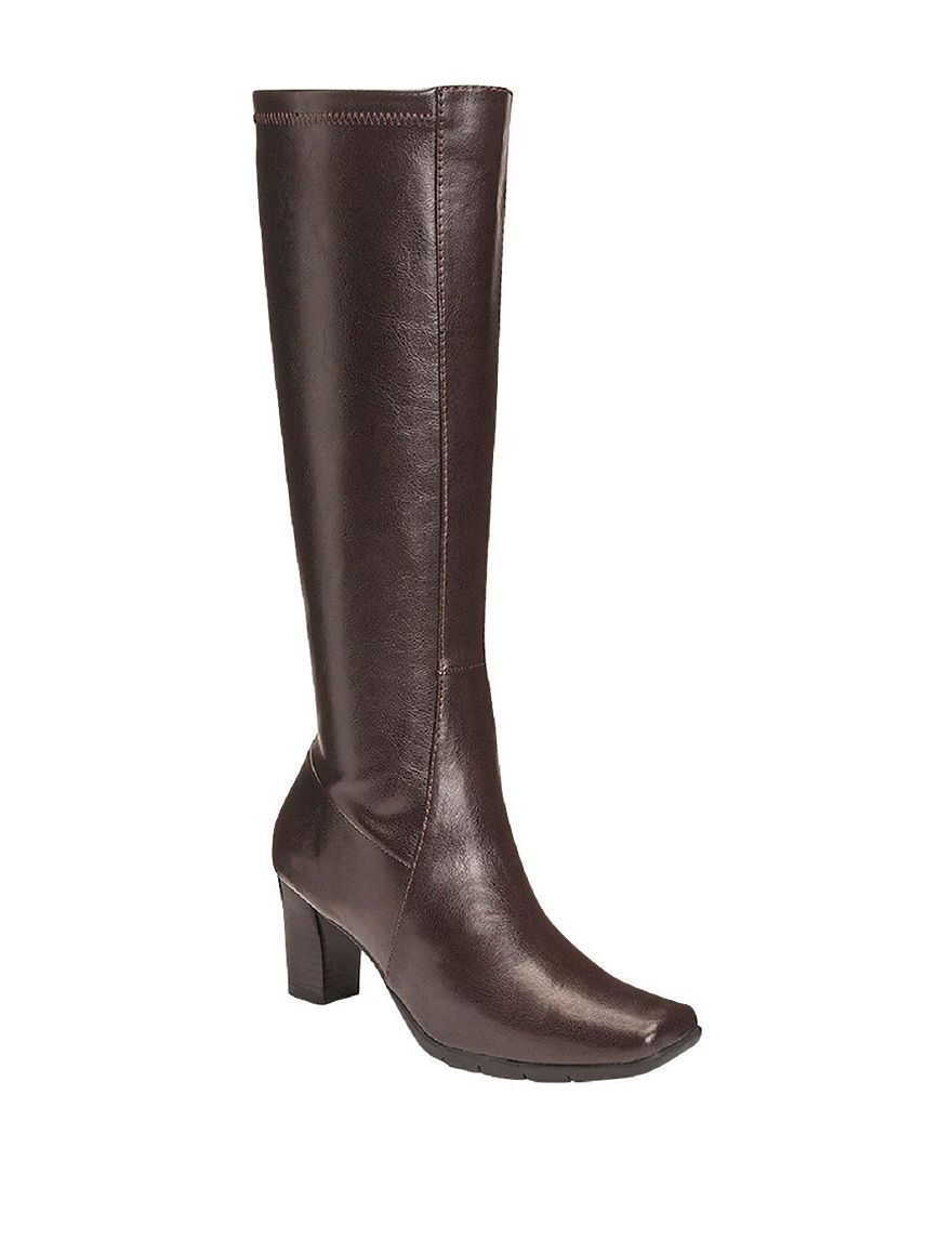 A2 by Aerosoles Brown Riding Boots Comfort