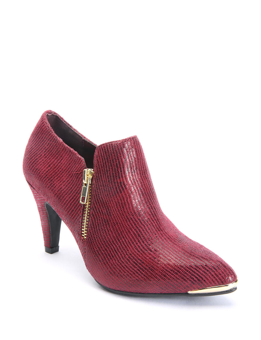 Bellini Red Ankle Boots & Booties